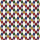 Rainbow Ladybirds by Liza Phoenix
