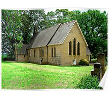ST JAMES CHURCH OF ENGLAND PITT TOWN NSW Poster