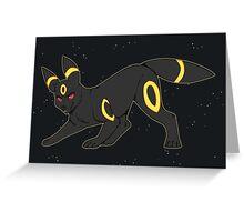 The Moonlight Pokemon Greeting Card
