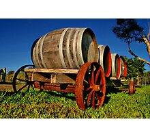 """On The Wagon"" Photographic Print"