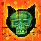 Halloween Scary Cat by Paul Allen