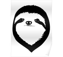 My Best Friend is a Sloth Poster