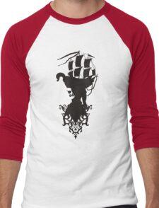 Smart pirate Men's Baseball ¾ T-Shirt