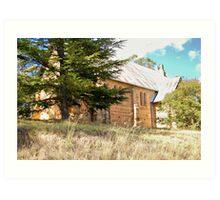 Church at Hartley NSW Art Print