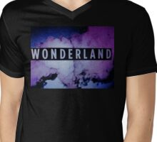 Wonderland Mens V-Neck T-Shirt