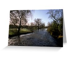 River Itchin from Berry's Bridge Greeting Card