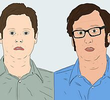 Tim and Eric by ryanthecreator