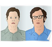Tim and Eric Poster