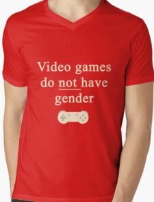 Video game do not have gender Mens V-Neck T-Shirt