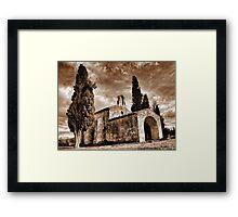 Provence chapel... Framed Print