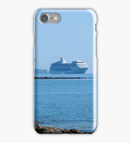 A painted ship upon a painted ocean........! iPhone Case/Skin