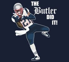 New England Patriots - Malcolm Butler 'The Butler Did It!' Kids Tee