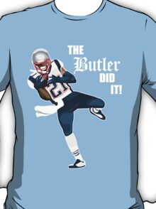 New England Patriots - Malcolm Butler 'The Butler Did It!' T-Shirt