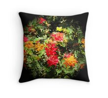 Full Moon in Spring Throw Pillow