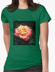 Seattle Rose Womens Fitted T-Shirt