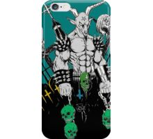 Baphomet Graveyard iPhone Case/Skin
