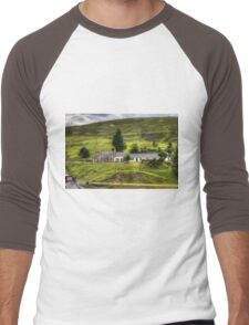 Cottages by the Burn Men's Baseball ¾ T-Shirt