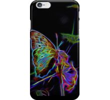 Neon Butterfly iPhone Case/Skin