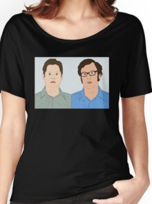Tim and Eric Women's Relaxed Fit T-Shirt