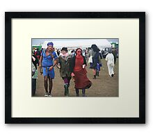dude-(almost)-looks-like-a-lady Framed Print