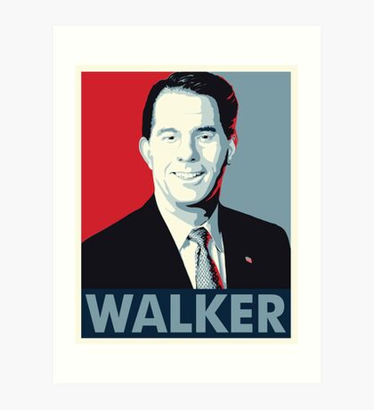 Scott Walker 2016 Art Print