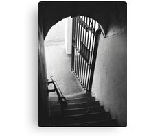 Old Gaol Stairs Canvas Print