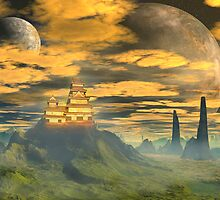 Castle of the Great Wu. by AlienVisitor