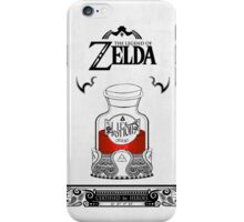 Zelda legend Red potion iPhone Case/Skin