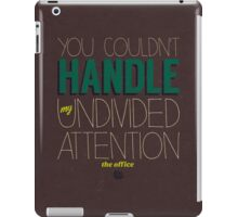 Dwight Schrute Quote iPad Case/Skin