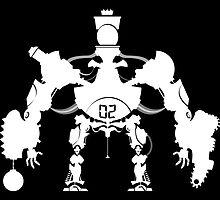 Killbot 02 - Porcelain King by Simon Sherry