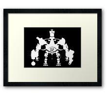 Killbot 02 - Porcelain King Framed Print