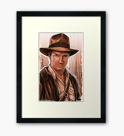 Indiana Fillion Framed Print