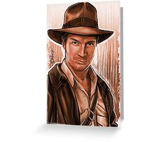 Indiana Fillion Greeting Card