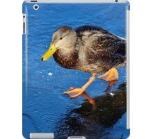 Walking on Thin Ice! iPad Case/Skin