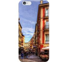 Shopping in Madrid iPhone Case/Skin