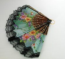 The Spanish Touch - Floral Fan by SunriseRose