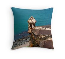Fortress of the Caribbean - 02 Throw Pillow