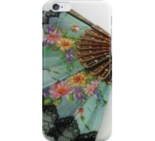 The Spanish Touch - Floral Fan iPhone Case/Skin