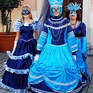 Ladys in Blue by VeniceCarnival