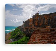 Fortress of the Caribbean - 04 Canvas Print
