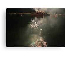 fourth of july reflections Canvas Print
