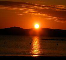 Sunset by daviddonabie