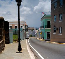 Old San Juan Streets by lightboxfactory