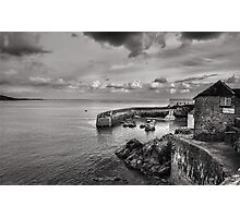 A Moody Day At Coverack, Cornwall Photographic Print