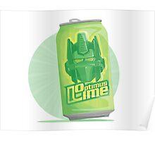 Optimus Lime Poster