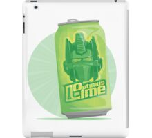 Optimus Lime iPad Case/Skin
