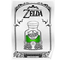 Zelda legend Green potion Poster
