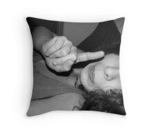 Mummy says no Throw Pillow