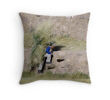 Moray Farmer Throw Pillow