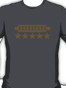 Harmonica stars T-Shirt